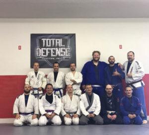 Blackbelt Dennis Hayes's seminar, 10/15/16