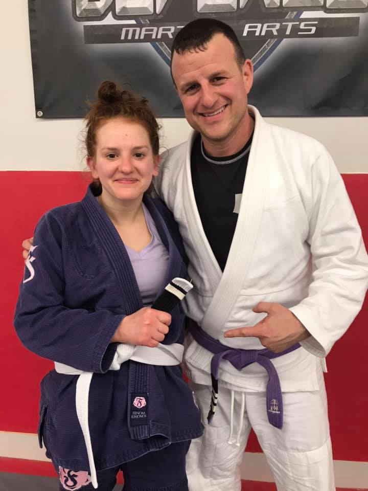 Congratulations to Liz on earning her first stripe!
