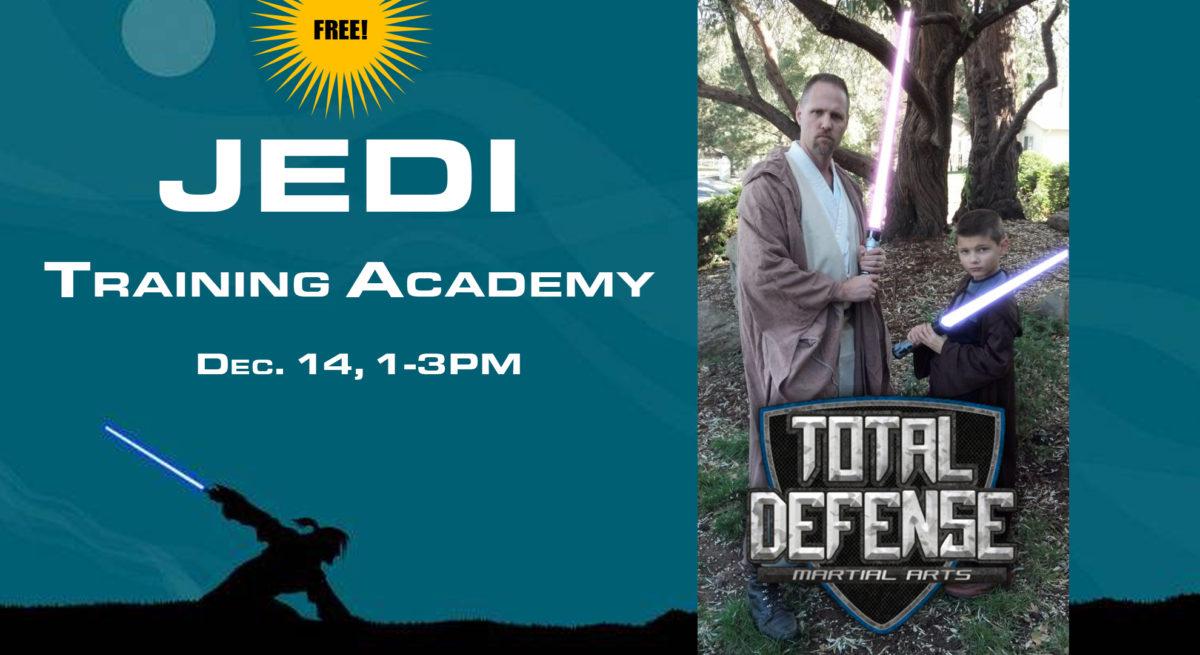 Jedi Training Academy, Dec. 14, 1-3PM — Watch the Videos