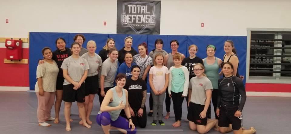 Women's Self-Defense Seminar, 11/13/19